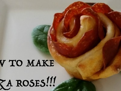 How to make Pizza Roses