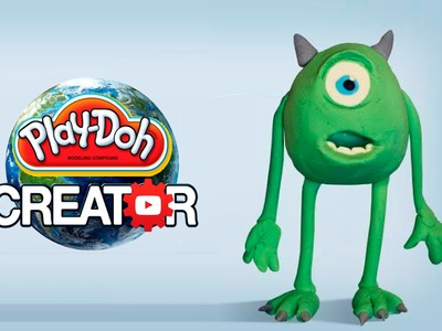 How to make Playdoh Mike Vazovsky [Monsters Inc. Disney Pixar]