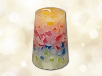 How to make recycled candles