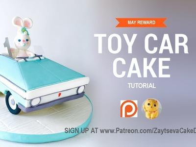 How to make Toy Car cake. Tutorial trailer