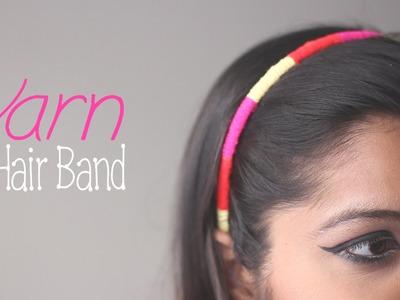 How to Make : Yarn Hair Band