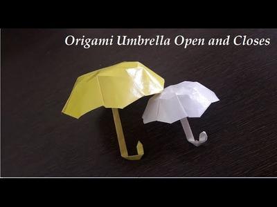 How to : Paper Umbrella Origami