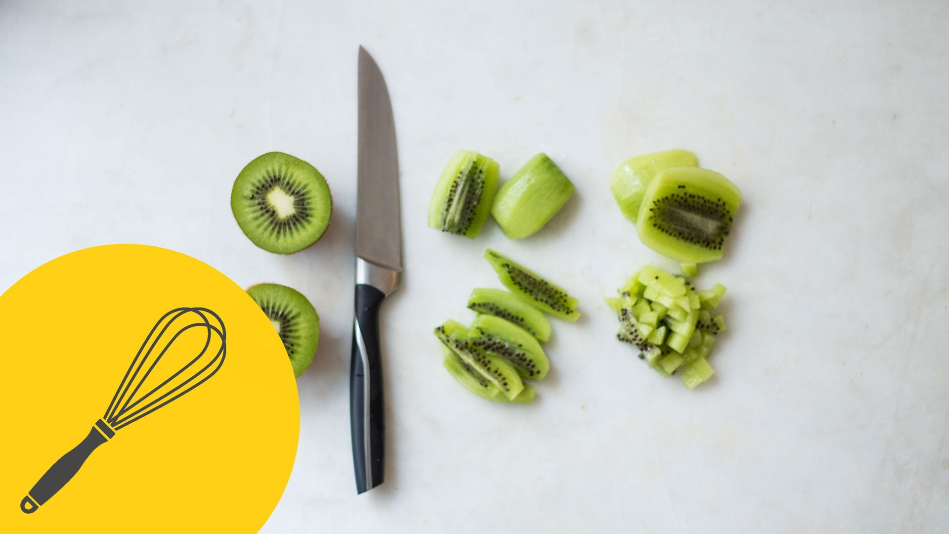 How to Peel and Cut a Kiwi | Essential Knife Skills | Cooking like the Pros