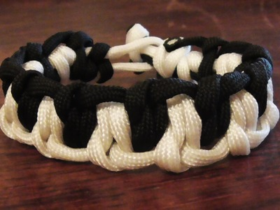 How To Tie A Zombie Teeth Paracord Survival Bracelet