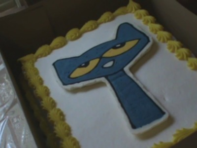 Pete the Cat Cake How to Video