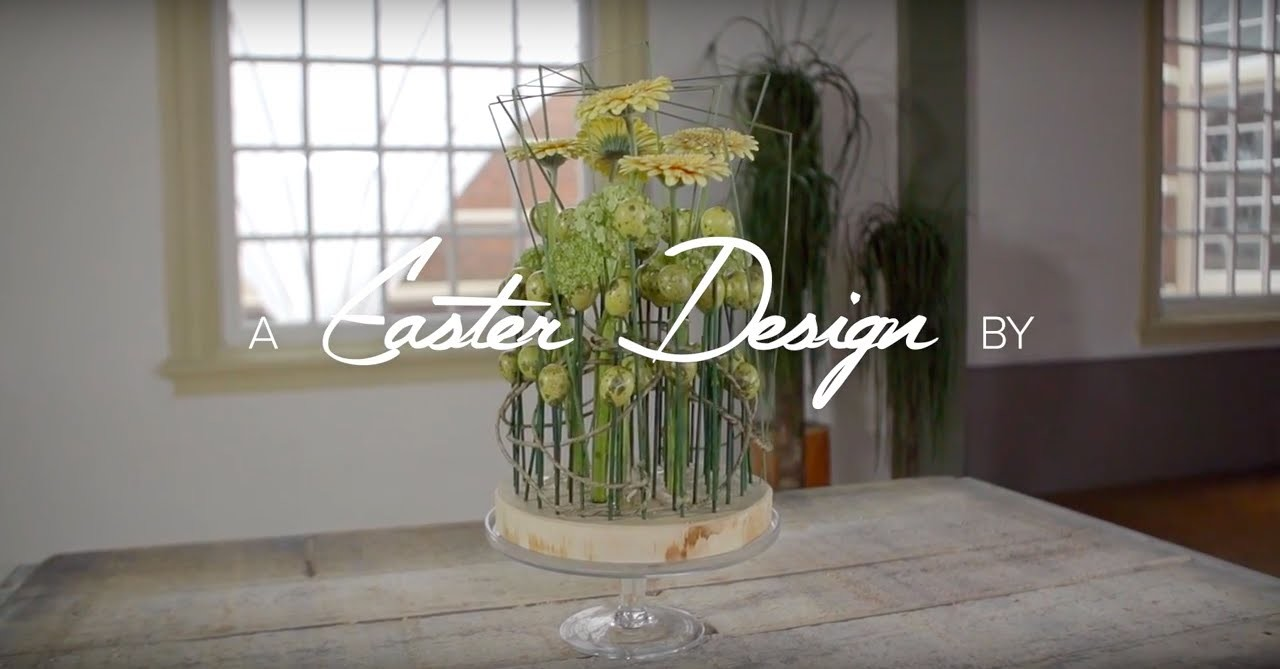 Pink orchids for Easter   Flower Factor How to   Easter designs