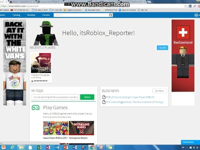 ROBLOX- How to change your name on Roblox