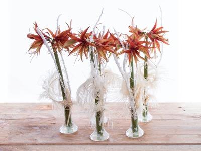 Single Amaryllis Design | Flower Factor How To | Flower Arrangement
