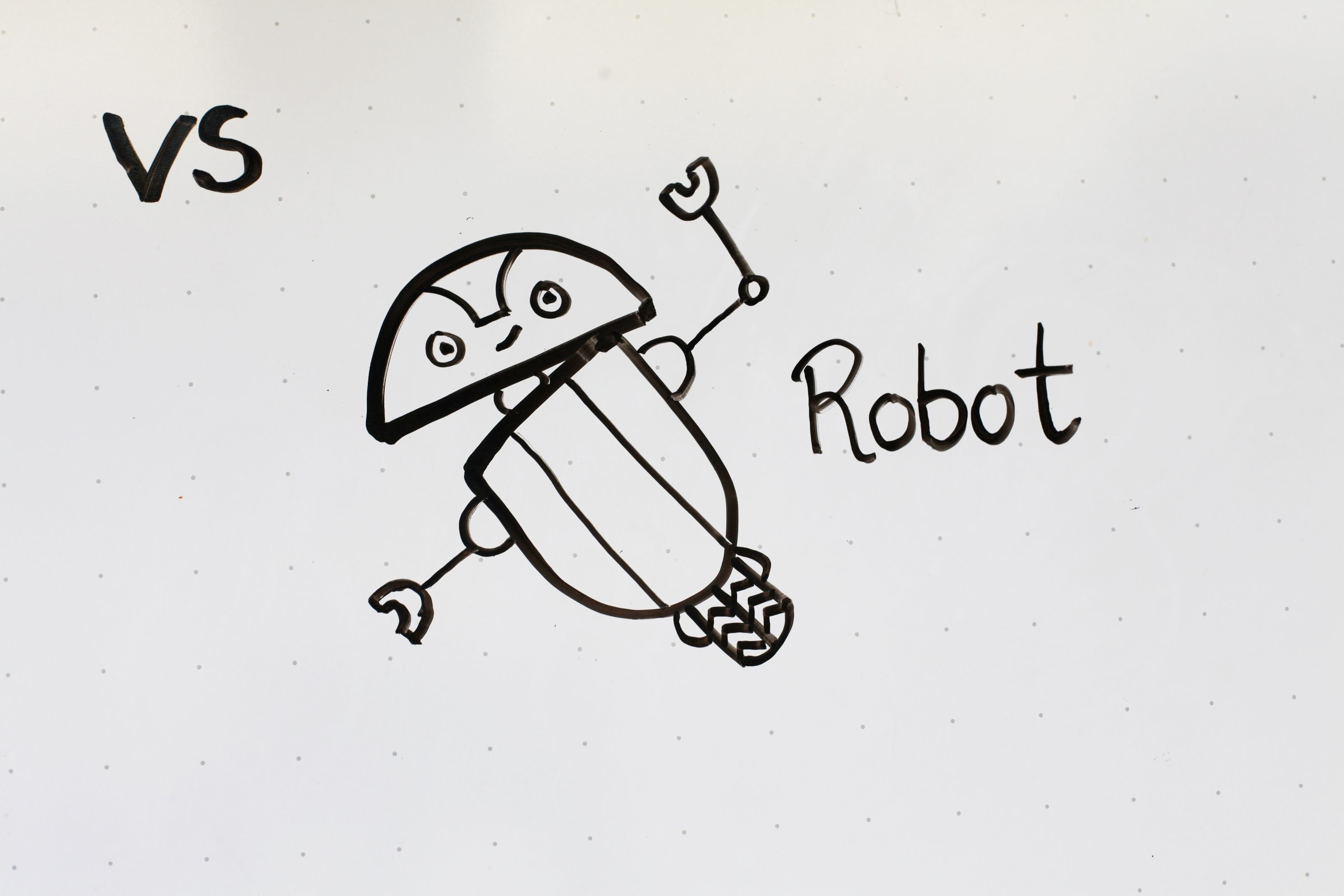 10: Kids' Tutorial -  How to Draw a Robot (A) | 2.5 Min | Simple, Easy & Fun | Vivi Santoso