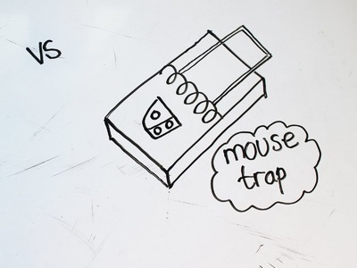 2: Kids' Tutorial - How to Draw a Mouse Trap | under 1.5 Min | Simple, Easy & Fun | Vivi Santoso