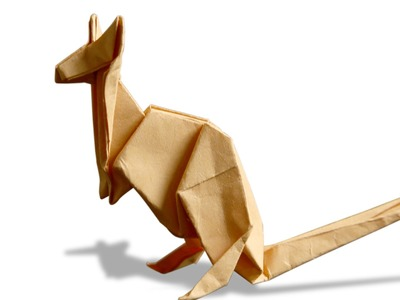 3D Origami Kangaroo | DIY | Learn Origami | How To Make Easy Origami Kangaroo