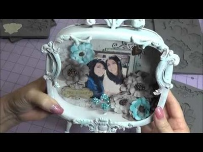 Altered frame and how to use Prima Moulds