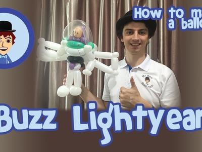 Balloon Tutorial - How to make a Buzz Lightyear style balloon!