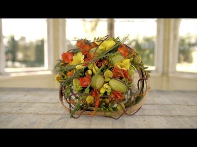 Colorful Wedding Bouquet | Flower Factor How To | Powered by Hofland Freesia