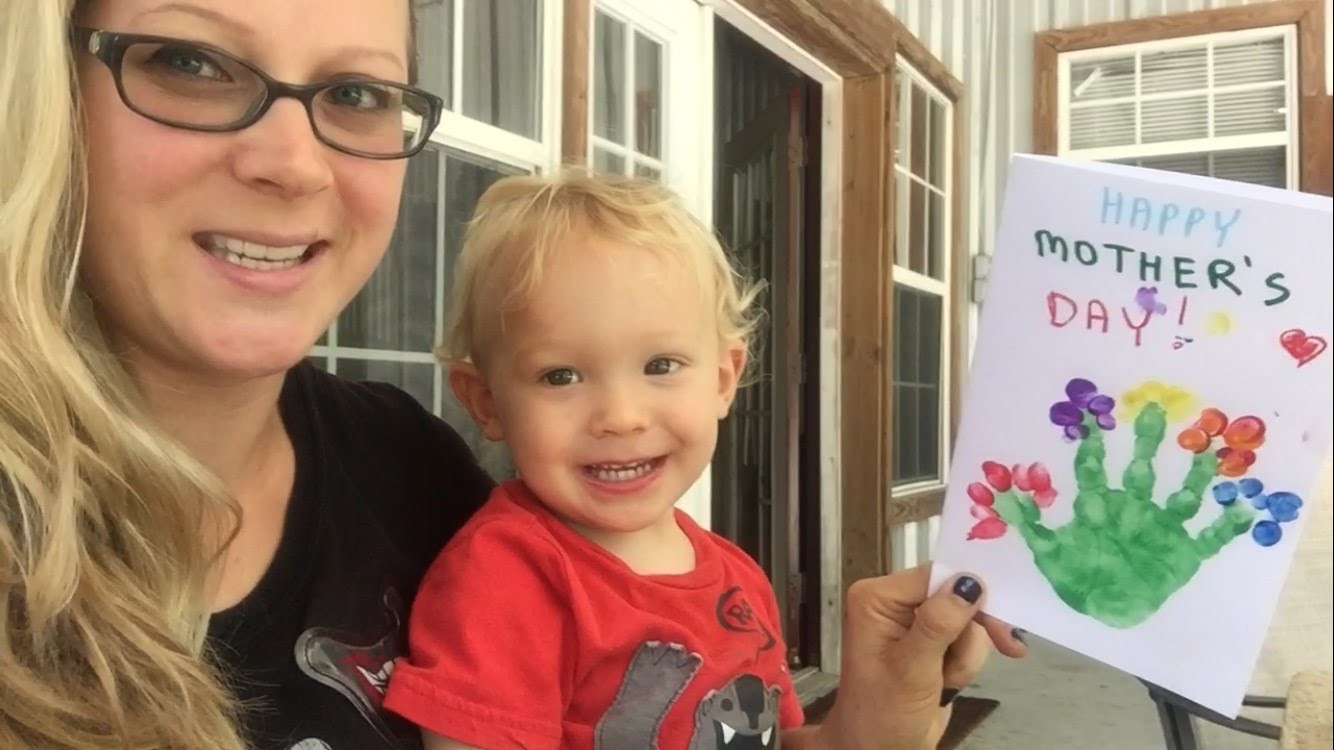 Happy Mother's Day! How To Make #MothersDay Card