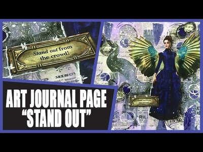 How to: Art Journal Page - Stand Out