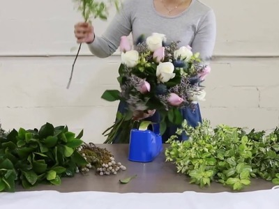 How to create a Mixed Roses Bouquet