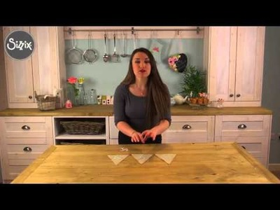 How to create bunting!