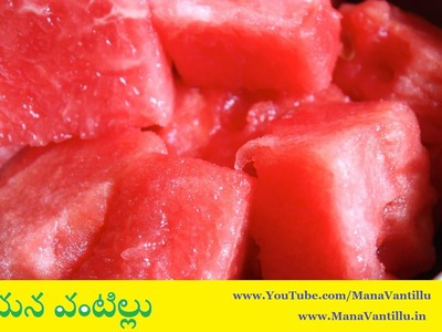 How to Cut Watermelon in Different Shapes