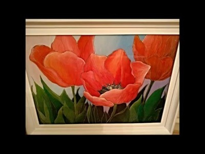 How to draw tulips?