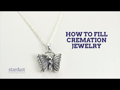 How to Fill Cremation Jewelry | Stardust Memorials