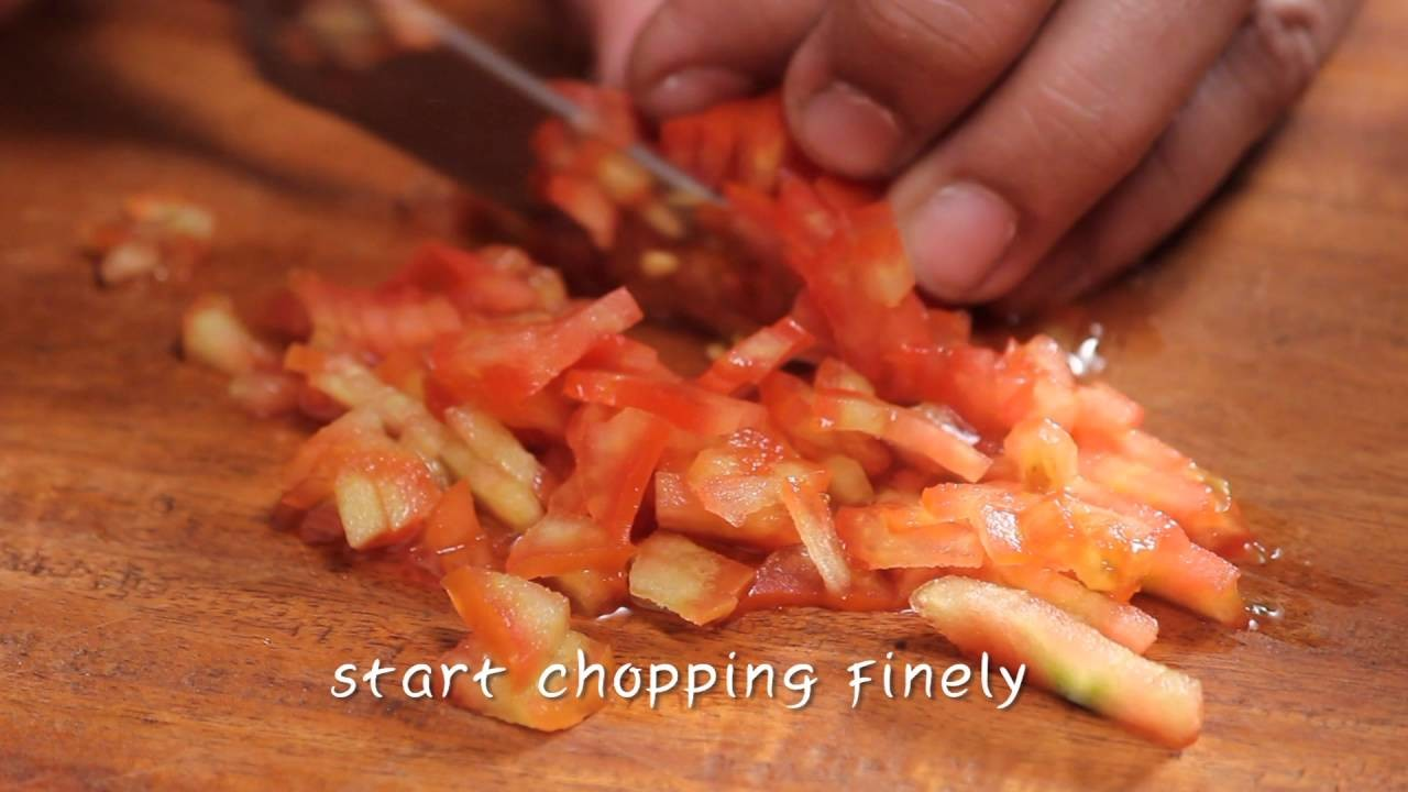 How To Finely Chop A Tomato | Sanjeev Kapoor Khazana