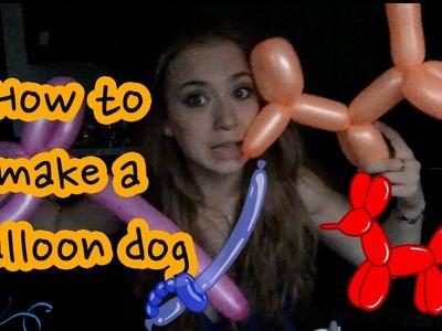 How To Make A Balloon Dog!
