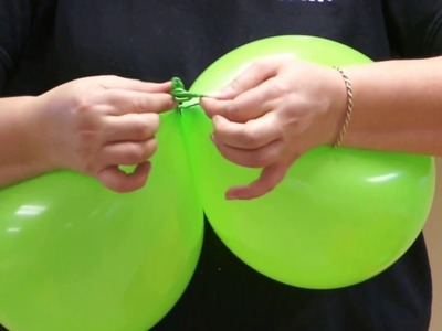How to make a balloon duplet