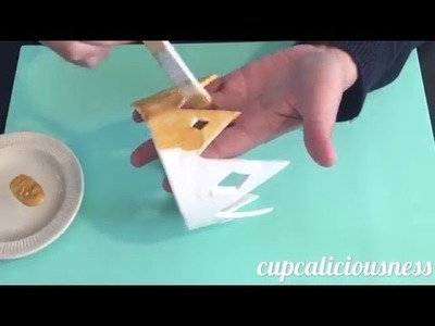 How to make a Crown cake topper from fondant