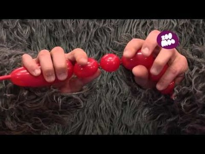 How to make a ladybug balloon with Gorilla Ninja