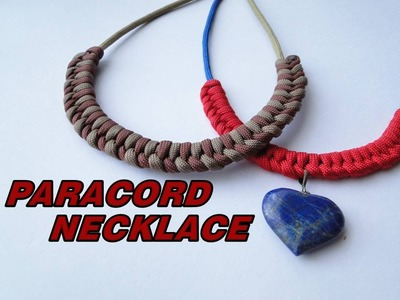 How to Make a Paracord Necklace-Self Bending Weave-Assisted Brown Bear :)