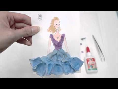 How to make a petal dress