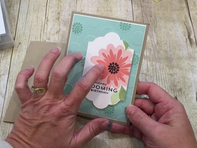 How to make a simple Flower Patch Card