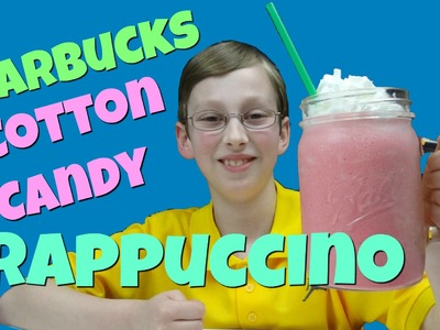 How To Make A Starbucks Cotton Candy Frappuccino | Collintv