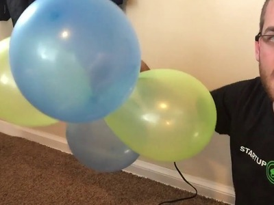 How to make balloon columns (Part 1)