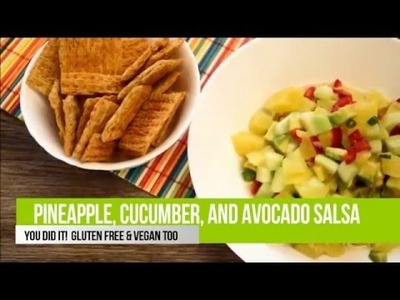 How To Make Best Salsa  Pineapple Cucumber Avocado Salsa EASY & DELICIOUS Put it on everything