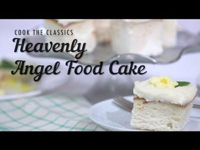 How to Make Classic Angel Food Cake | MyRecipes