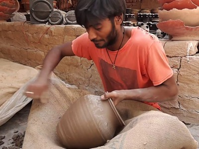 How to make clay pots without a wheel
