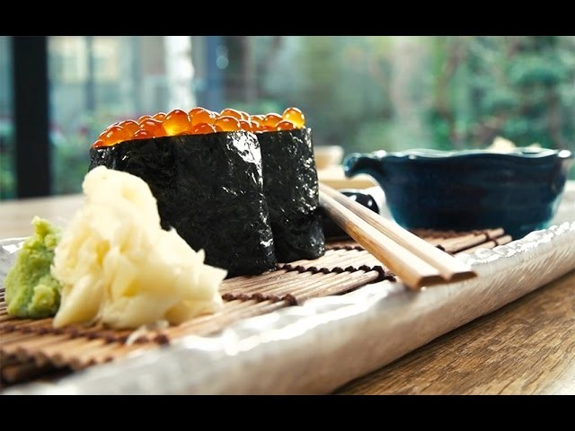 How to make Gunkan Maki | Sushi School