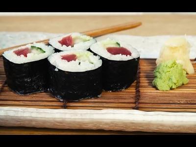 How to make Maki | Sushi School