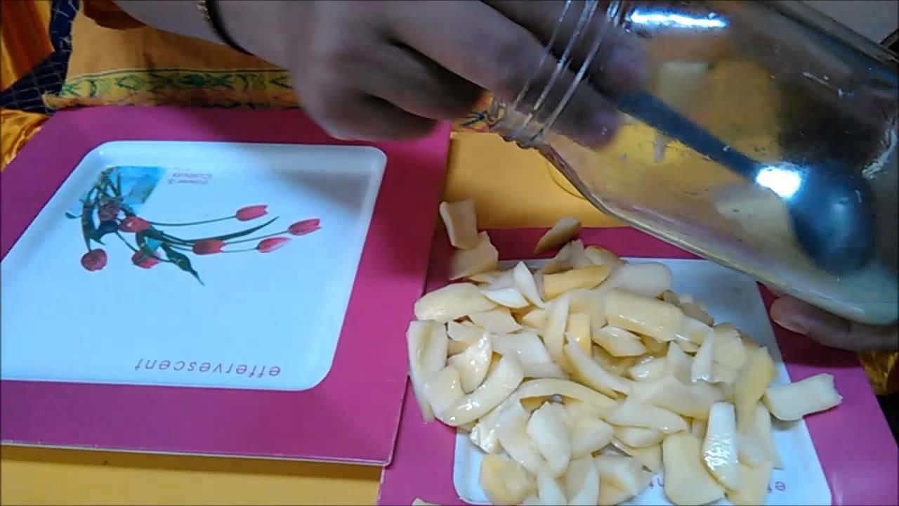 How to make oil free hing mango pickle (Aam ka Hing Vala Bina Tel ka Achaar)