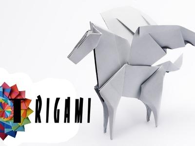 How To Make Origami Pegasus 2016 | QT