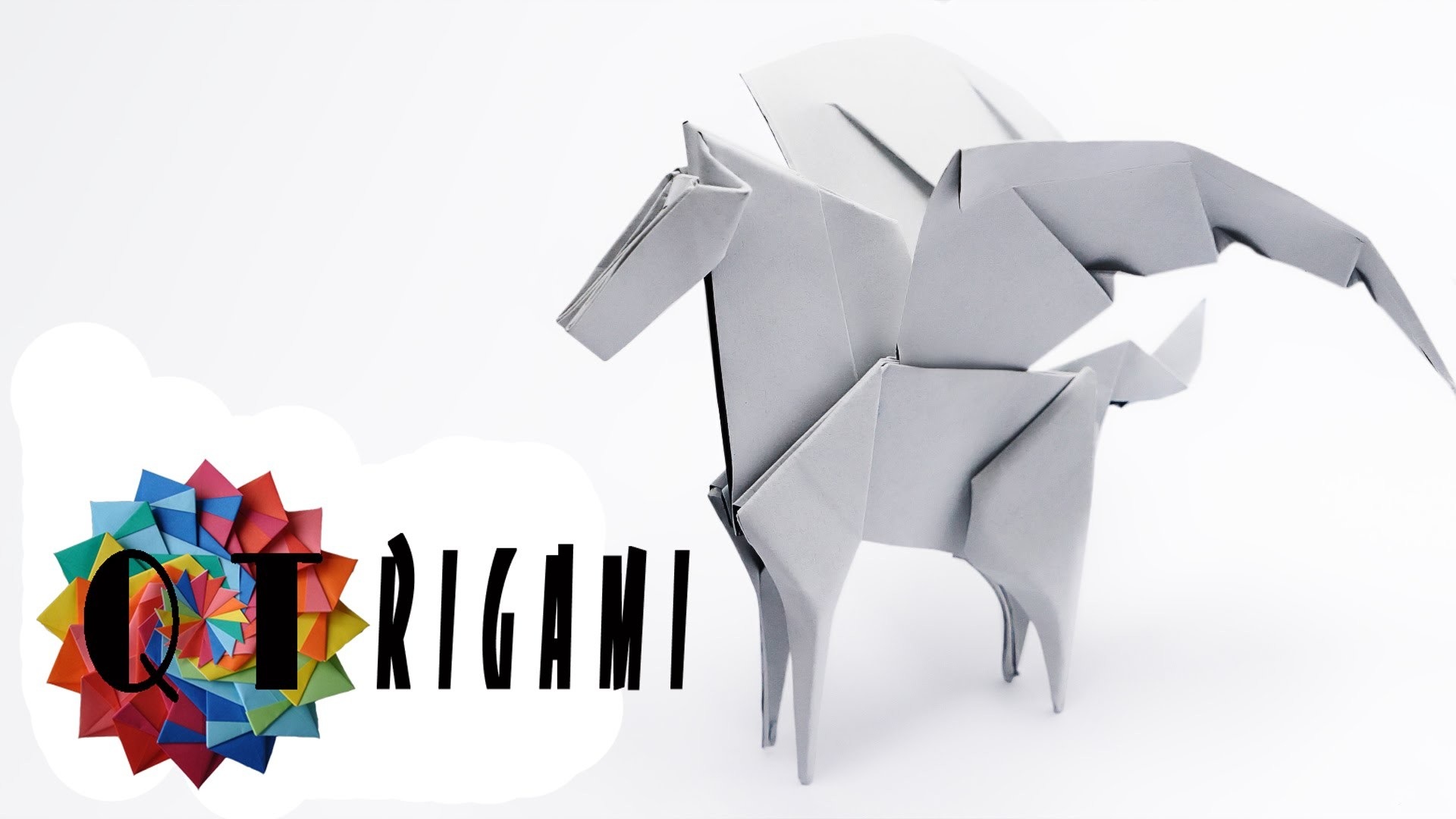 How To Make Origami Pegasus 2016 | QT