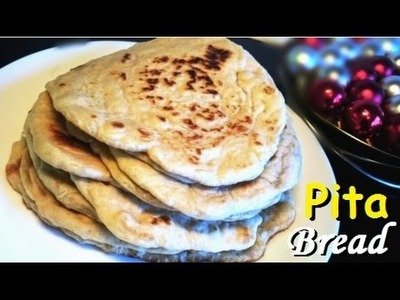 How to Make Pita Bread (Cara Membuat Roti Pita)