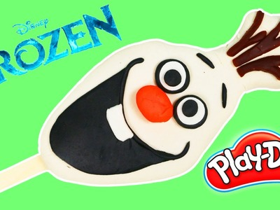 How to Make Play Doh Disney Frozen Olaf Popsicle Fun & Easy DIY Play Dough Ice Cream!