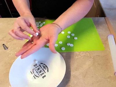 How to make silver edible balls