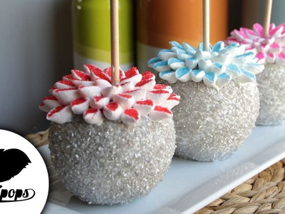 How to Make Sparkling Chocolate-Dipped Flower Apples | Become a Baking Rockstar