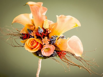 How to make this bridal bouquet tutorial