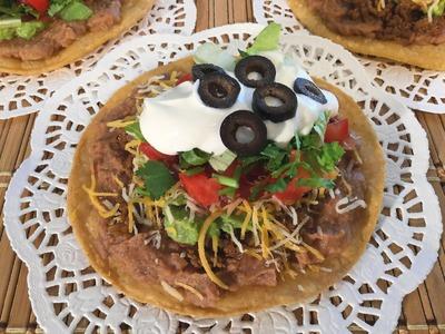 How To Make Tostadas-Mexican Food Recipes