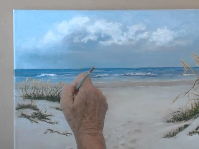 How to Paint a Beach Scene in Oils   Session 9 Finishing Touches